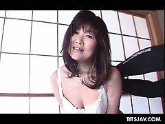 Sex undernourished Japanese alms-man flaunting will not hear of huge tits coupled with nipples